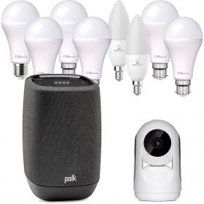 Polk Assist + Laser Smart Home Lighting and Security Pack