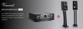 Scansonic HD MB1 B & Vincent SV-237MK Hi-Fi Package