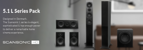 Scansonic HD L Series Home Theatre Pack