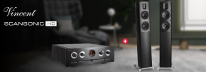 Scansonic HD MB2.5 B & Vincent SV-237MK Hi-Fi Package