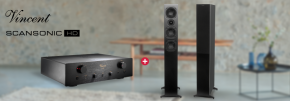 Scansonic HD L9 & Vincent SV-500 Hi-Fi Package