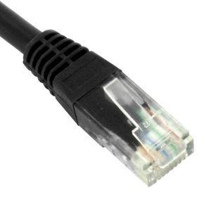 2m CAT6 Cable Black CAT602BUP