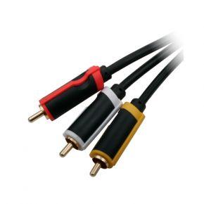20x 5m Crest AV Cables Bulk Pack CC203RCA50