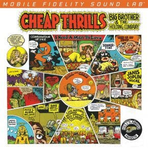 Big Brother And The Holding Company - Cheap Thrills MoFi 180g 2LP 45RPM Numbered