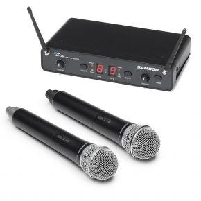 Samson CON88-HANDHELD-DUAL Concert 288 Dual Handheld Wireless System