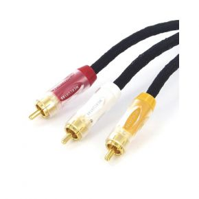 Mercury AV 3RCA AV Cable 1.5m CP33RCA