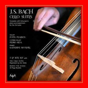 J.S. Bach - Cello Suites 5LP Chasing The Dragon Live Vinyl Box Set