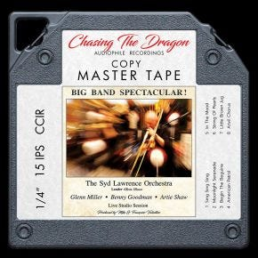 Big Band Spectacular Live Chasing The Dragon Master Quality Reel to Reel Tape