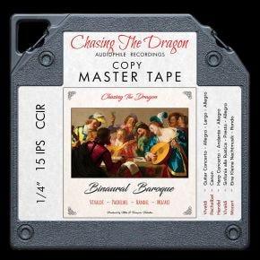 Binaural Baroque Chasing The Dragon Binaural Master Quality Reel to Reel Tape