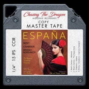 Espana: A Tribute to Spain Chasing The Dragon Master Quality Reel to Reel Tape