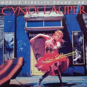 Cyndi Lauper - Shes So Unusual MoFi LP Numbered