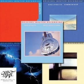 Dire Straits MoFi 5 Album 45rpm Vinyl Record Bundle