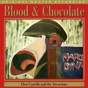 Elvis Costello - Blood And Chocolate MoFi LP 180g Numbered