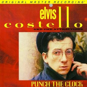 Elvis Costello - Punch The Clock MoFi LP 180g Numbered
