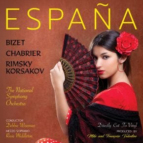 Espana: A Tribute to Spain LP Chasing The Dragon Direct Cut Vinyl
