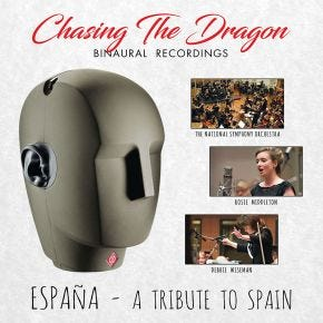Espana: A Tribute to Spain Binaural LP Chasing The Dragon Binaural Vinyl