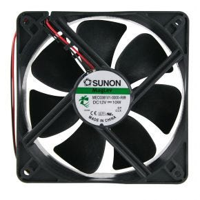 Sunon Cooling / Exhaust Fan 12V 120mm F1165