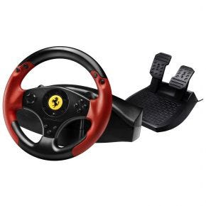 Thrustmaster Ferrari Red Legend Edition Racing Wheel For PC & PS3 Gaming Controller