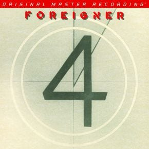 Foreigner - 4 MoFi LP 180g Numbered