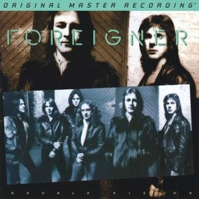 Foreigner - Double Vision MoFi LP 180g Numbered