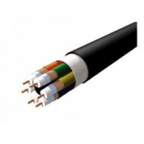 50m Origin 6-Core Mini 75 Ohm Video Coax Cable Double Shielded OFC KHS346