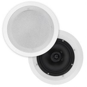 "OEM 6.5"" Poly Cone In Ceiling Speakers Pair CS607"