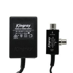 GME Kingray 17.5V AC 100mA Power Supply for MATV Antenna Masthead Amplifier KPS08
