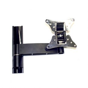 "13-30"" inch Single Screen LCD TV Monitor Swivel Tilt Wall Mount Bracket VESA Black LCD102.bl"