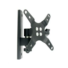 "13-30"" inch Single LCD Monitor Swivel Tilt Wall Mount Bracket VESA Black 23kg LCD106.bk"