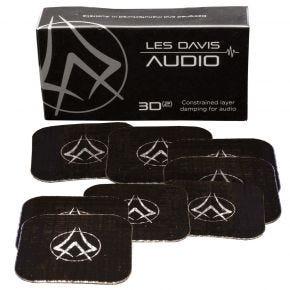 Les Davis Audio 3D-2 Isolation Damping Feet Box of 8
