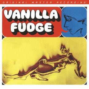 Vanilla Fudge - Vanilla Fudge 2LP MONO 45RPM MoFi Limited Edition