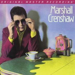 Marshall Crenshaw - Marshall Crenshaw MoFi LP 180g Numbered