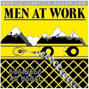 Men At Work - Business As Usual MoFi LP Numbered