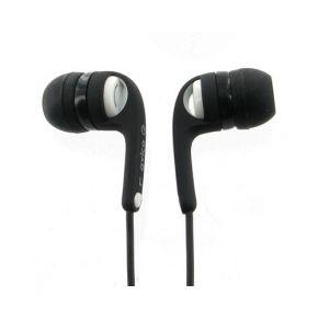 Avico ListenIn Earphones Earbuds 100 Series with Inline Volume Control Black & White MHP130W