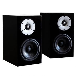 Serhan+Swift Brigadier Mu.2 Standmount Speakers Pair Gloss Black