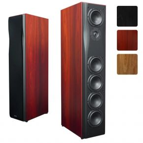 Krix Neuphonix Floorstanding Speakers (Pair) in Real Timber Veneer