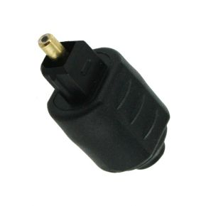 Optical Toslink Plug to Optical Mini Jack Adaptor Adapter TP4601