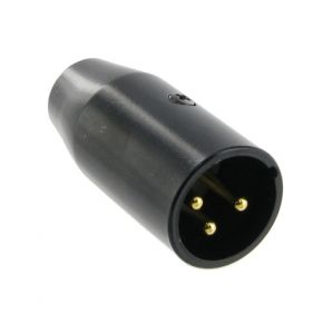Adaptor 3 Pin XLR Male To Mini 3 Pin XLR Male P0971