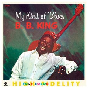 B.B. King - My Kind Of Blues 180g LP
