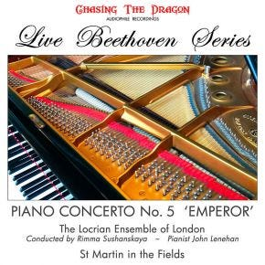 Live Beethoven Series - Piano Concerto No 5 'Emperor' LP Chasing The Dragon Vinyl