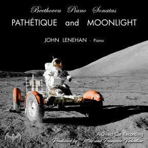 Beethoven Piano Sonatas: Pathetique & Moonlight Live LP Chasing The Dragon Direct Cut Vinyl