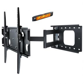 "37-60"" Inch LCD LED Plasma TV Wall Mount Slimline Tilt Swivel Corner Bracket PLB126B.bl"