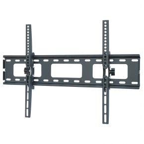 "32-52"" inch LCD LED Plasma TV Slimline Tilt Wall Mount Bracket Black PLB131L"
