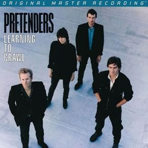 Pretenders - Learning To Crawl MoFi LP 180g Numbered