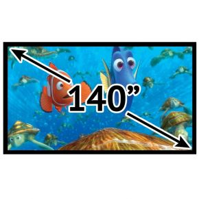 "140"" 16:9 Fixed Frame Projector Screen"
