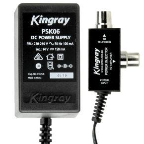 Kingray 14V DC 150mA Power Supply PSK06