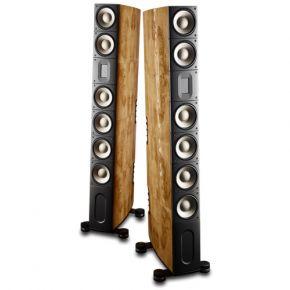 Raidho XT-5 Titanium Floorstanding Speakers Maple Burl Pair