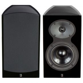 Revel Performa3 M106 Bookshelf Speakers Pair Black