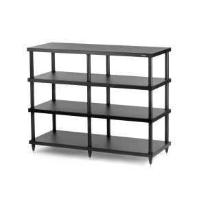 Solidsteel S4 4 Shelf Rack Black