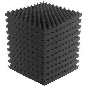 10pk 50x50cm Sound Foam Acoustic Treatment Panels Tiles 'Eggshell' SA2500
